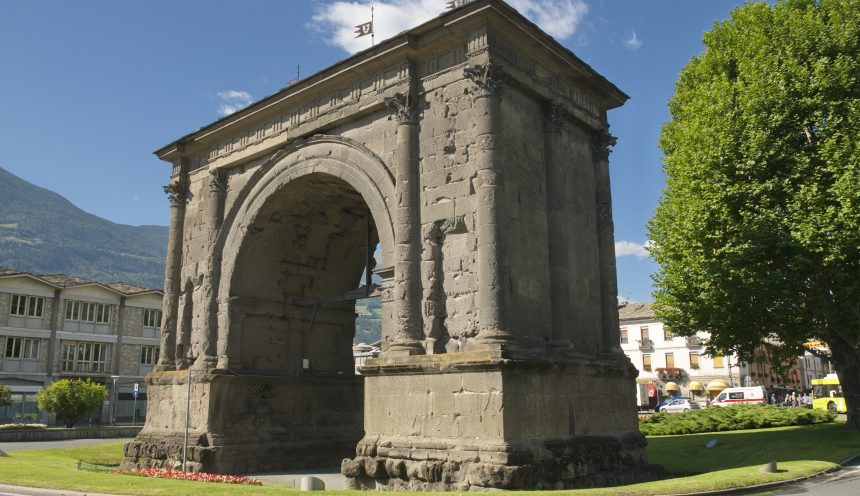 gita scolastica ad Aosta la Roma delle Alpi