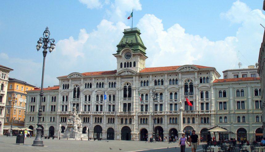 Trieste Palazzo del Comune