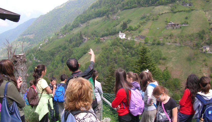 Viaggio di istruzione ed escursioni alle orobie valtellinesi