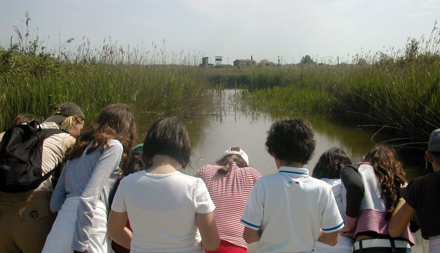 Viaggio di istruzione per il Parco Delta Po