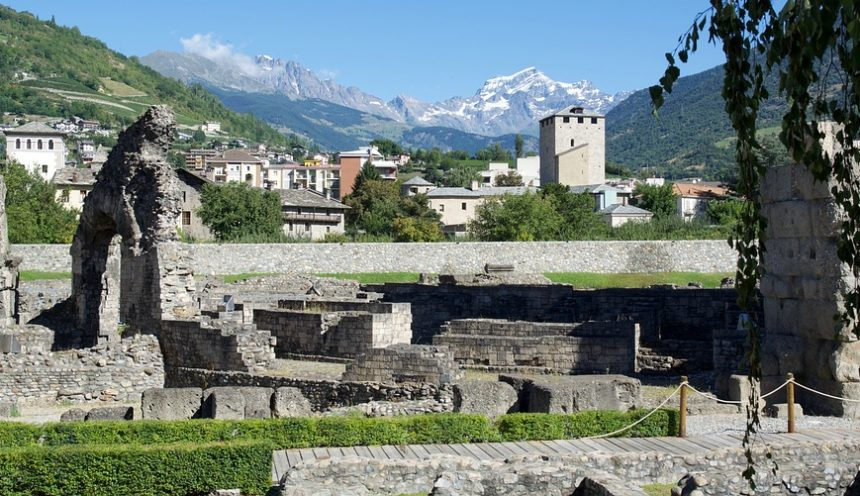 uscita didattica in Val D'Aosta