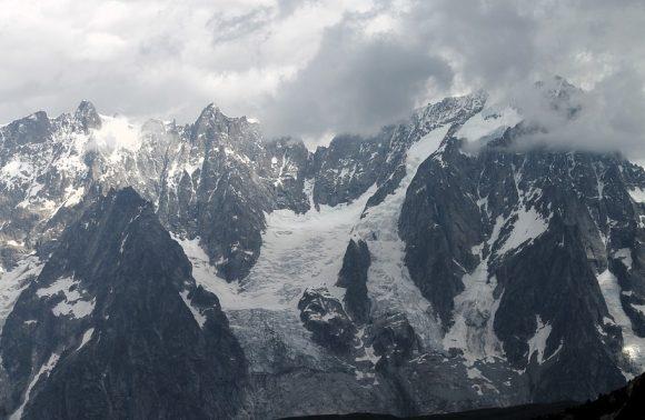 Il Monte Bianco e la Val Ferret