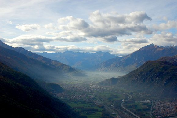 Pellegrini in Val di Susa