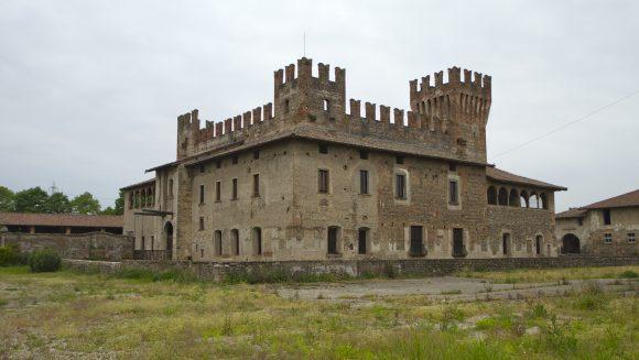 Parco del Serio: le praterie e il Castello di Malpaga