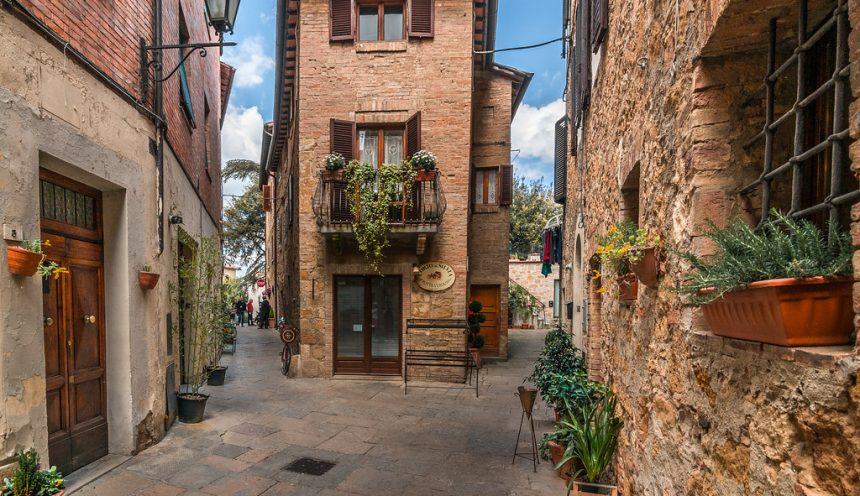 uscita didattica a Pienza e Montepulciano